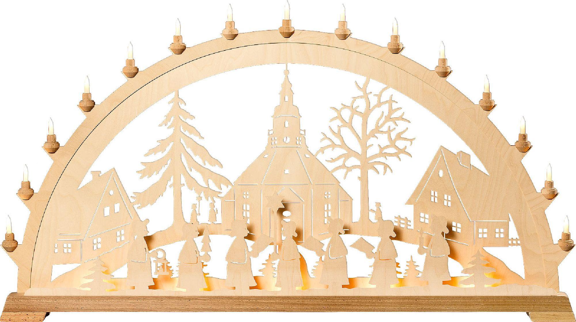 Wunschschwibbogen Seiffener Kirche