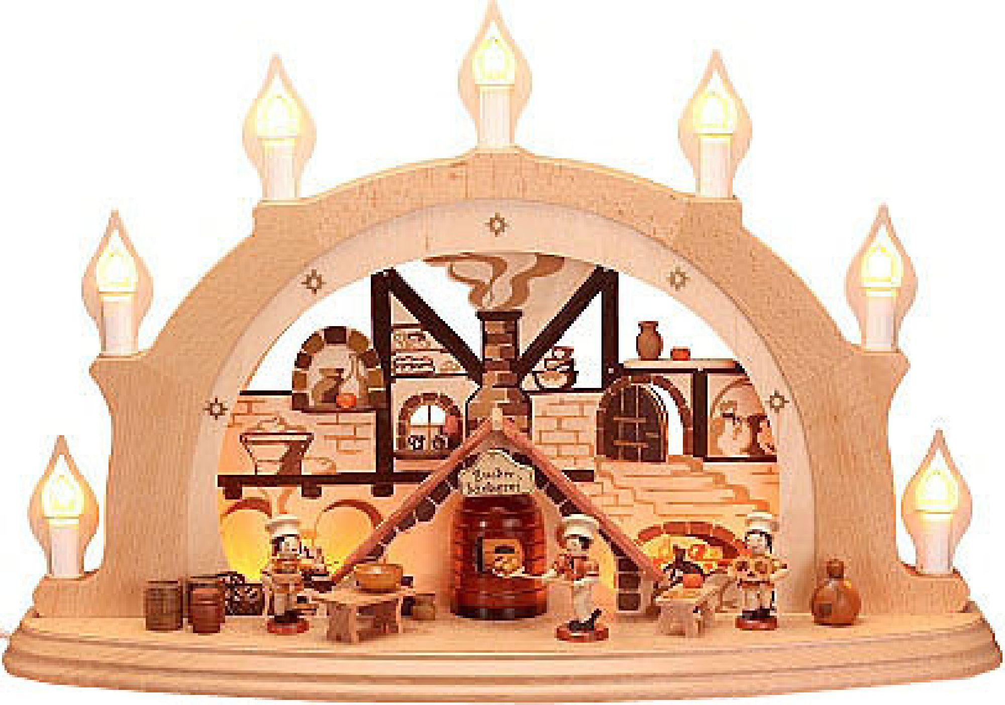 3D-Schwibbogen Weihnachtsbäckerei