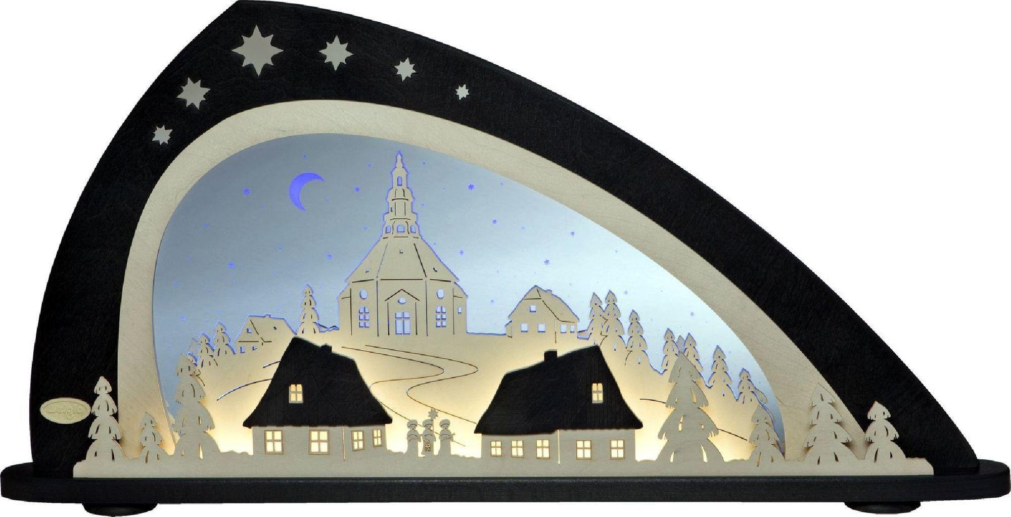 Lichterbogen Seiffener Kirche